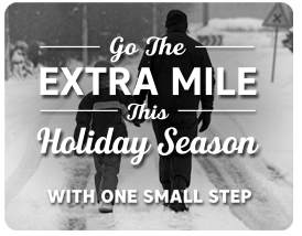 Go the Extra Mile With One Small Step - Donate Today